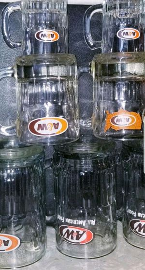 Collection of 7 A&W cups of different sizes for Sale in Arab, AL