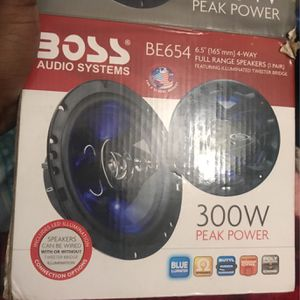 Boss Speaker Be654 for Sale in The Bronx, NY