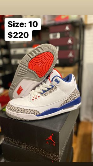 Jordan 3 True Blue size 10 for Sale in Temecula, CA