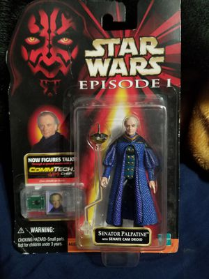 New Star Wars episode 1 senator Palatine action figure for Sale in West Covina, CA