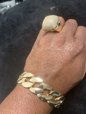 Ring and Bracelet Silver (New ). for Sale in Kissimmee, FL