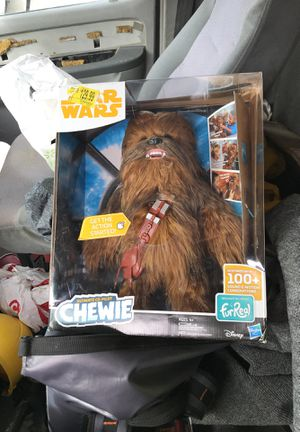 NEW Star Wars Ultimate Co-Pilot Chewie Wookiee Furreal Friends Pet Chewbacca for Sale in El Cerrito, CA
