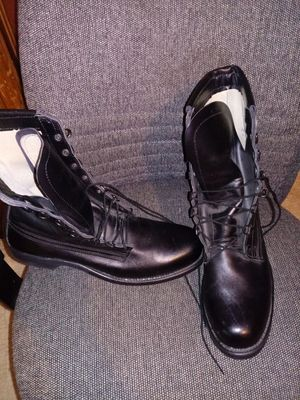 Military type steel toed work boots for Sale in Stonecrest, GA
