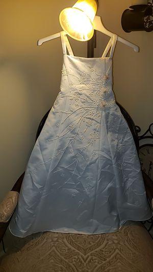 Cream Flower girl dress size 6 for Sale in Glen Burnie, MD