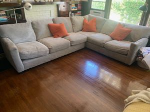 Custom Grey Sectional Couch for Sale in Alhambra, CA
