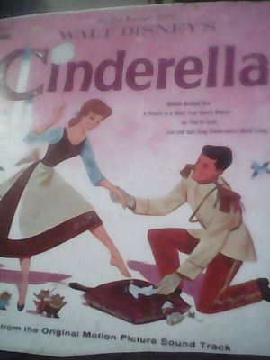 1959 Cinderella a Collection of Children's Disneyland Records by Walt Disney for Sale in Baldwin Park, CA