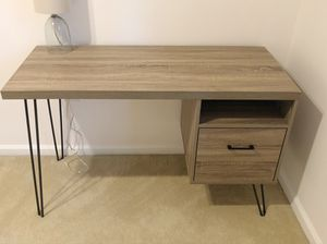 Stylish and functional desk, multi-use for Sale in Alexandria, VA