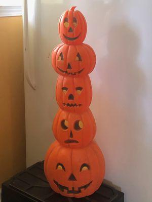 Stack plastic pumpkins for Sale in Denham Springs, LA
