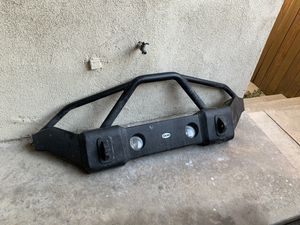DV8 Full width front bumper for Jeep JK for Sale in Los Angeles, CA