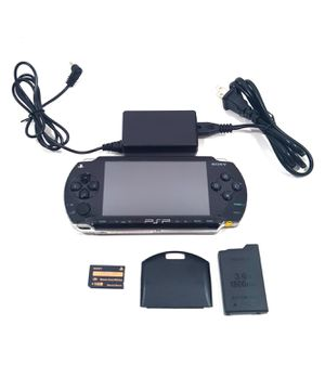 Sony Black PSP 1000 With AC Adapter for Sale in El Mirage, AZ