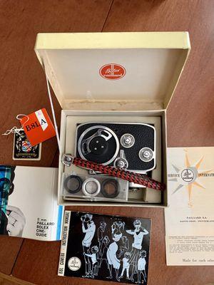 $150 BLACK FRIDAY SALE! vintage-Paillard-Bolex B8 8mm Movie Cine Camera inc. Kern Paillard lens for Sale in Pomona, CA