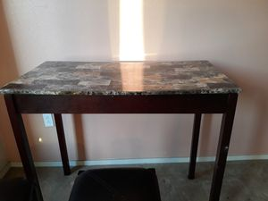 Marble top table with 2 stools for Sale in Oakland, CA