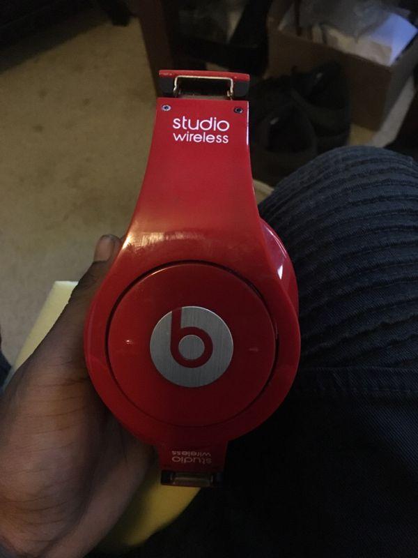 Wireless Studio Beats headphones!