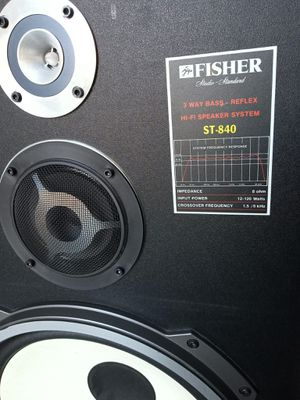 Fisher floor speakers for Sale in Palmdale, CA