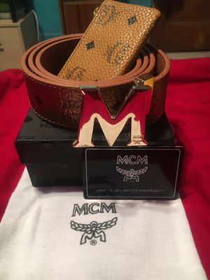 MCM Belt and Coin Pouch set for Sale in Pittsburgh, PA