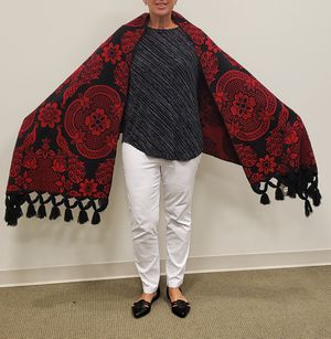 Embroidered shawl from Guatemala. for Sale in Clarksburg, MD