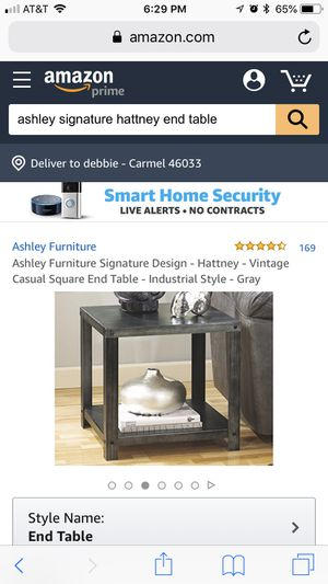 Ashley Furniture coffee table and end table for Sale in Lake Wales, FL