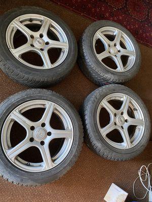 2001 BMW Rims and Tires 205/55 R16 for Sale in Lorton, VA