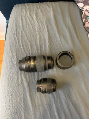 2 Nikon lens for Sale in Brooklyn, NY