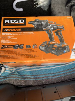 Ridgid octane hammer drill set for Sale in Norfolk Historic District, CT