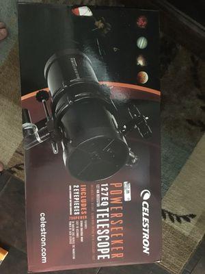 127eq celestron telescope for Sale in Sioux Falls, SD