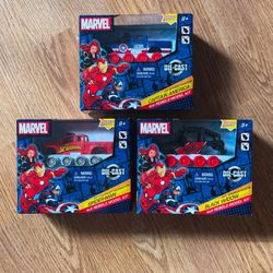 NEW Marvel Rebels Model Kits Bundle (captain America, Spider-Man, & Black Widow) $20 for Sale in Concord,  CA