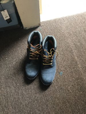 Blue suedes Timberland Size 10.5 for Sale in San Francisco, CA