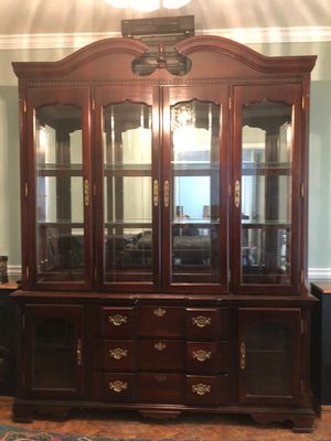 Dining Room Table, Chairs, China Cabinet for Sale in Dacula, GA