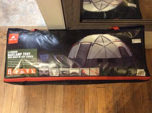 Camping Tent With Build In LED Lights BRAND NEW NEVER USED for Sale in Old Bridge, NJ