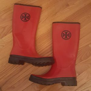 Tory Burch Rain Boots for Sale in Burtonsville, MD