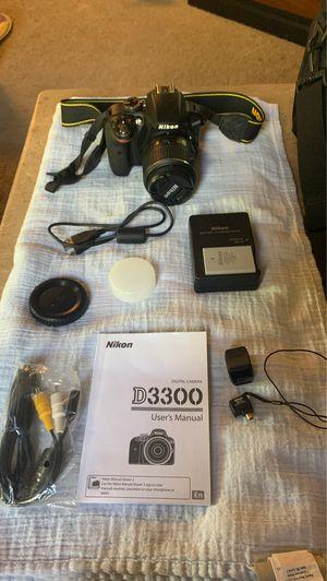 Nikon D3300 DSLR, Wireless Adapter + LowePro Camera Bag for Sale in Phoenix, AZ