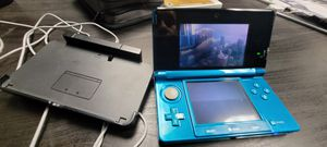 Nintendo 3DS teal blue with 7 games! for Sale in HOFFMAN EST, IL