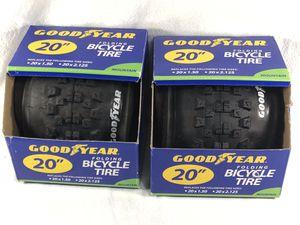 "2- GoodYear Folding Bicycle Bike Tire 20"" Mountain Bike Replacement Tires for Sale in Atlanta, GA"