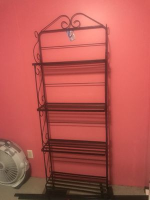 Metal shelving $60 for Sale in Durham, NC