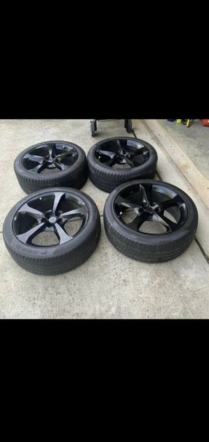"""Rims and tires 20"""" for Sale in Germantown, MD"""