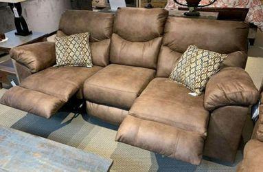 Boxberg bark reclining sofa and loveseat for Sale in Houston,  TX