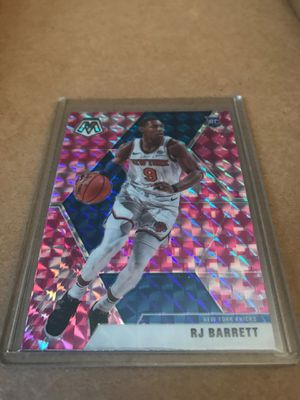 RJ BARRETT 2019/20 PANINI PRIZM MOSAIC PINK CAMO RC ROOKIE🔥🔥🔥 for Sale in San Marcos, CA
