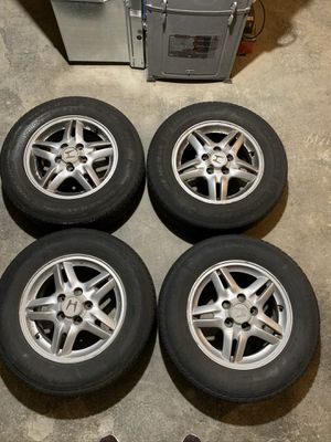 First gen Honda CR-V stock alloy 15 in rims, set of five . Pick up only for Sale in Lancaster, PA