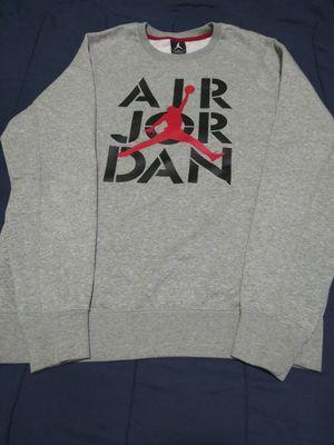 Like New Jordan Grey Sweater Nike for Sale in Olympia Heights, FL