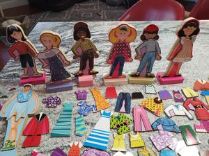 MAGNETIC dressup dolls for Sale in Lake Worth, FL