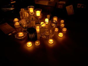 28 LED tea light & Votive candles with holders for Sale in Modesto, CA