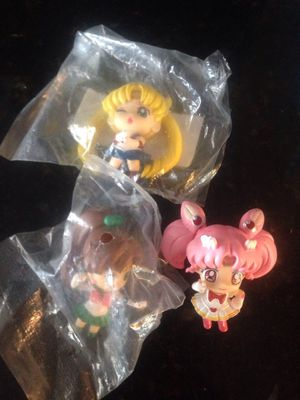 Sailor moon small figures for Sale in Garden Grove, CA