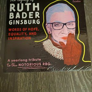 2021 RUTH BADER GINSBURG WALL CALANDER for Sale in Dover, NJ