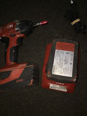 Hilti impact drill + 2 batteries & Charger for Sale in Bloomington, IN