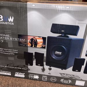 BNW Acoustics TL-7 Home Theater System for Sale in Cleveland, OH