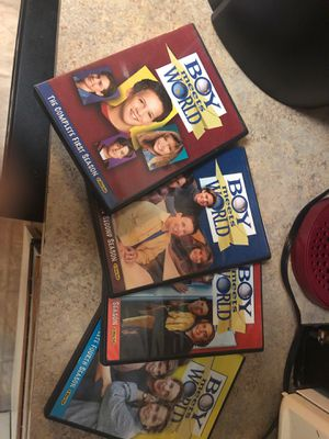 Boy meets world season 1-4 for Sale in Oregon City, OR