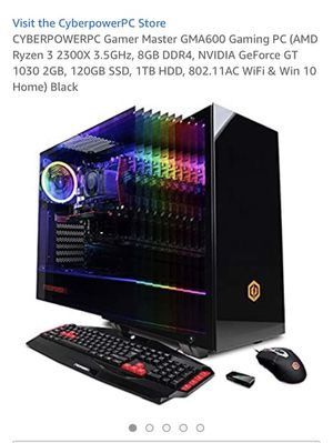 Cyberpowerpc Gaming PC with New Parts! READ DESCRIPTION! AND I WILL BE ADDING PICTURES SOON for Sale in Naples, FL