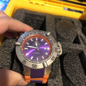 Invicta Purple Face Orange Band Watch for Sale in Sloan, NV