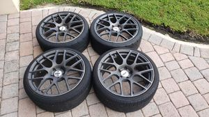 """TSW rims and tires 19"""". 5x112 audi,mercedes,vw for Sale in Miami, FL"""