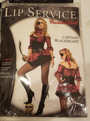 Lip service girls costume, pirate outfit for Sale in Fullerton, CA